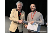 The best poster prize in the DSSC categories at HOPV-14
